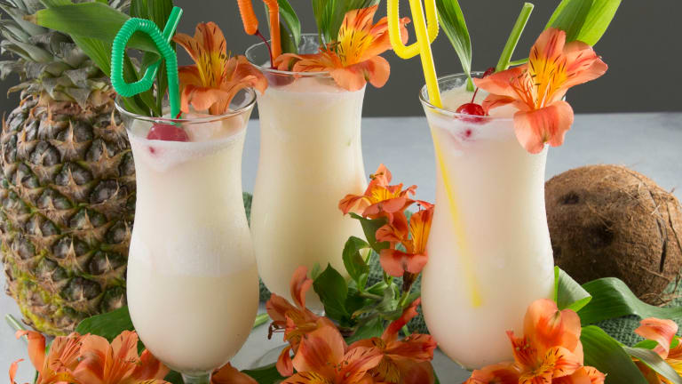 Enjoy A Tropical Escape With This Refreshing Pina Colada