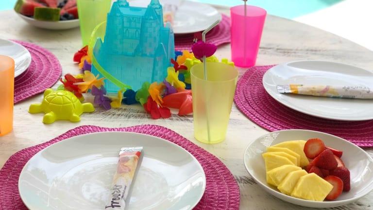 Pool Party Worthy Frozen Fruit Treats