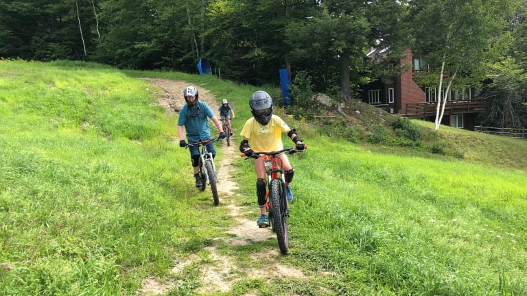 Visit to Okemo Evolution Mountain Bike  Park