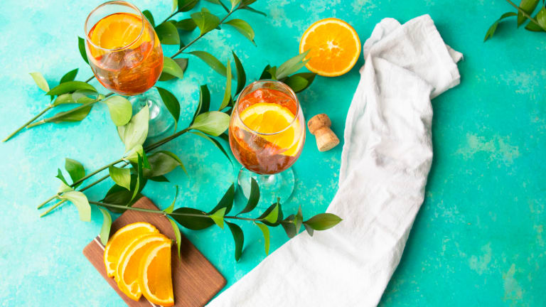 An Aperol Spritz Is Just What You Need To Sip On And Relax This Weekend