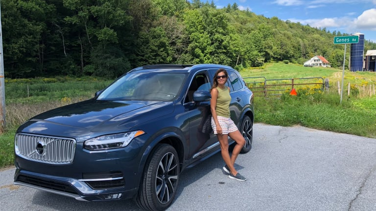 Heading Back to School in the Volvo XC90