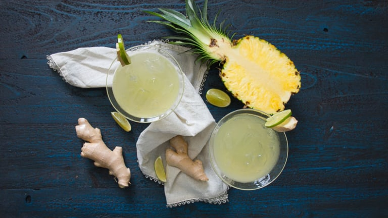 Pineapple Ginger Margarita
