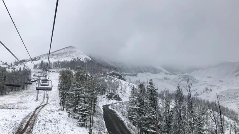 Ski Resorts where it's already snowing