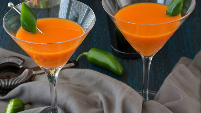 Spicy Carrot Martini