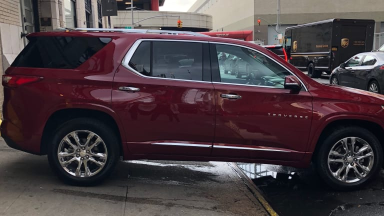 Chevy Traverse Mom Road Test