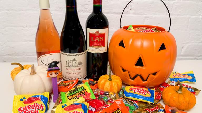 4 Spooky Wine + Halloween Candy Pairings
