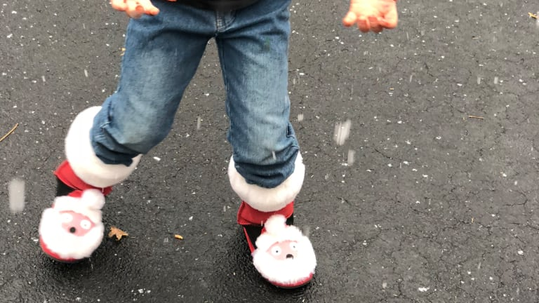 The Cutest Christmas Creature Boots