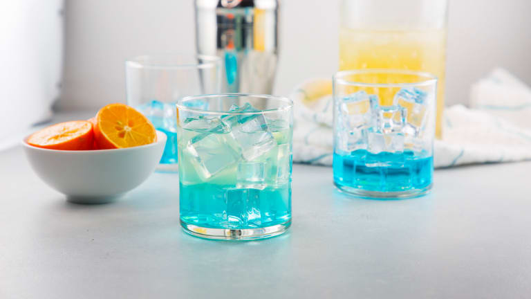 Winter Blues Cocktail