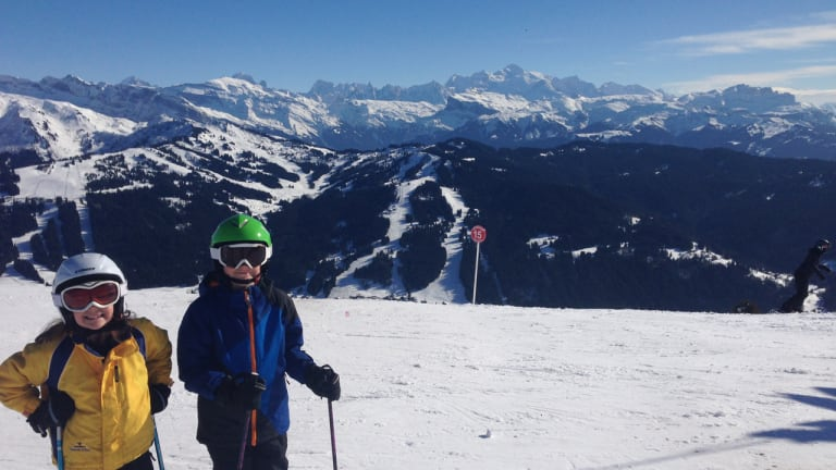Skiing in Europe with Kids