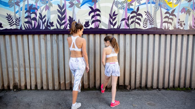 Cute Mommy and Me Workout Clothes