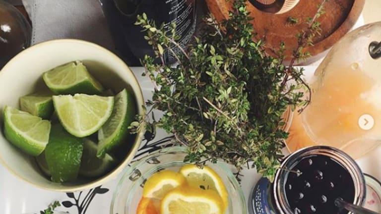 Midsummer Garden Mocktail
