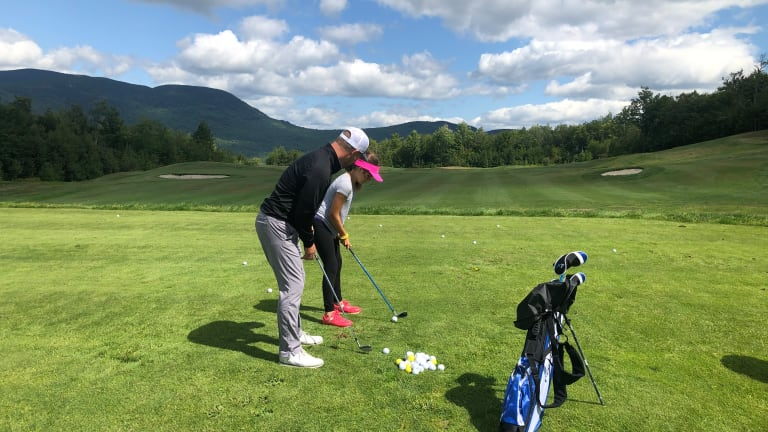 Checking Out Sunday River Golf Club