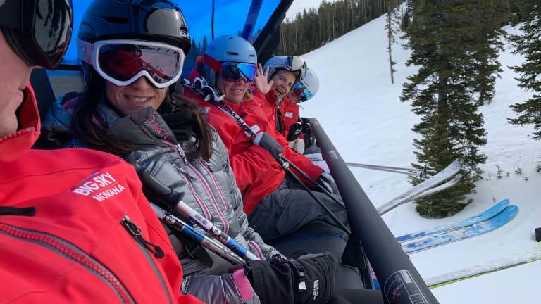 Ski Big Sky Resort Montana
