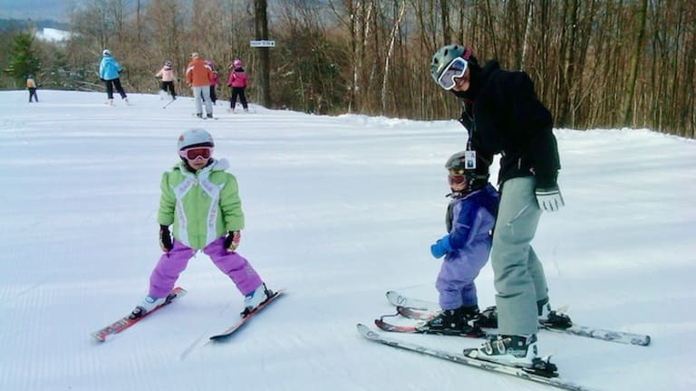 Where to Teach Kids to Ski Near New York City