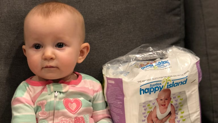 On the Go Diaper Changes Made Easier