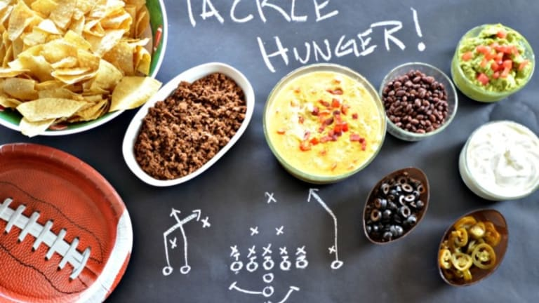 Super Bowl Party: Nacho Bar & Bacon Chile Queso Recipe