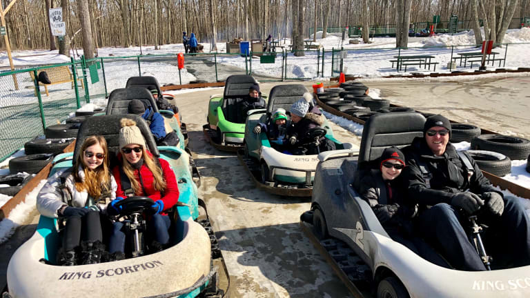 Our Winter Weekend at Woodloch