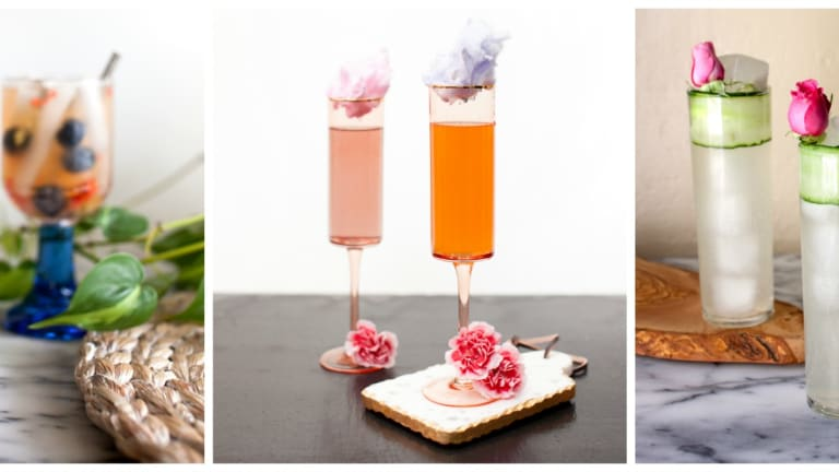 3 Simple Spring Cocktails to Toast the Season With