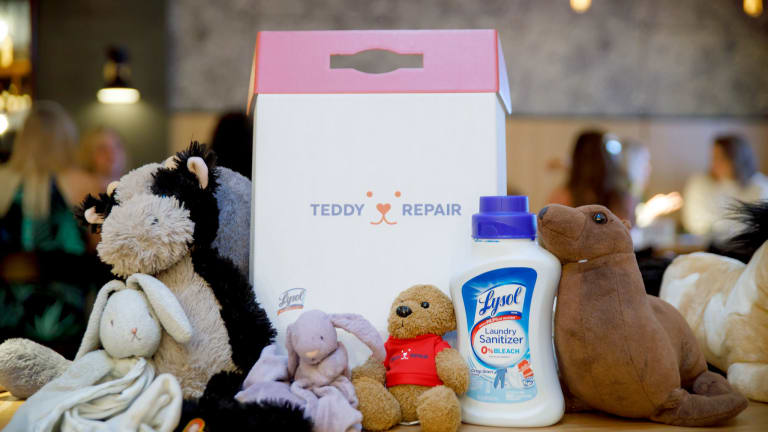 Tips for Care and Cleaning of Stuffed Animals #LysolTeddyRepair