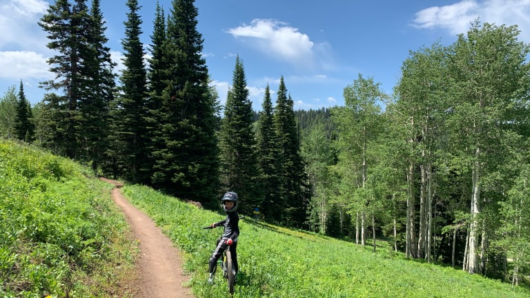 Family Mountain Biking Resorts