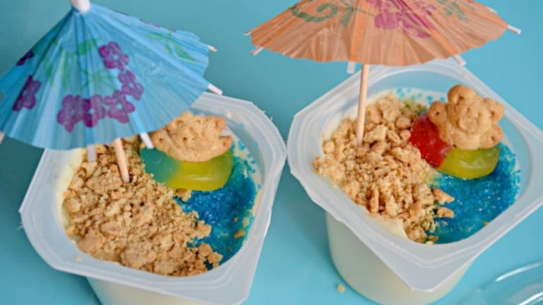 Beachy Snack for Kids