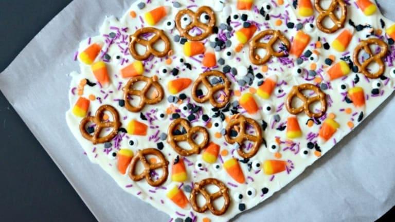 Kids in the Kitchen: Halloween Boo Bark Recipe!