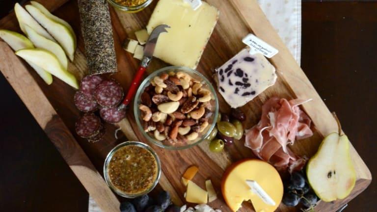 Perfect Fall Cheese Board