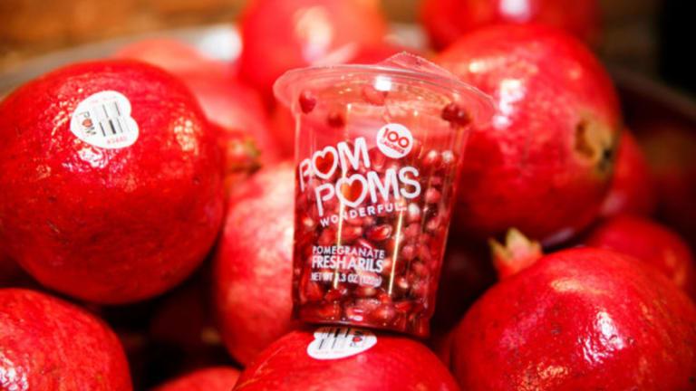 Pomegranate Stuffed Squash Recipe