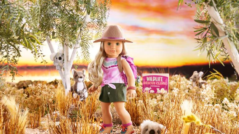 2021 American Girl Doll of the Year Kira Bailey