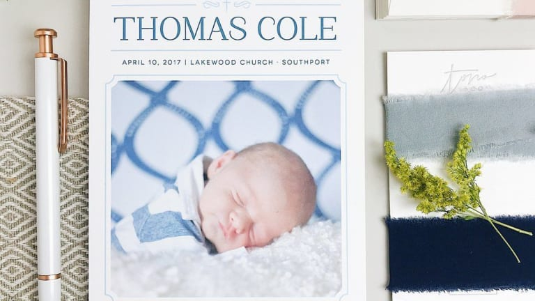 Where to Find the Cutest Baby Announcements