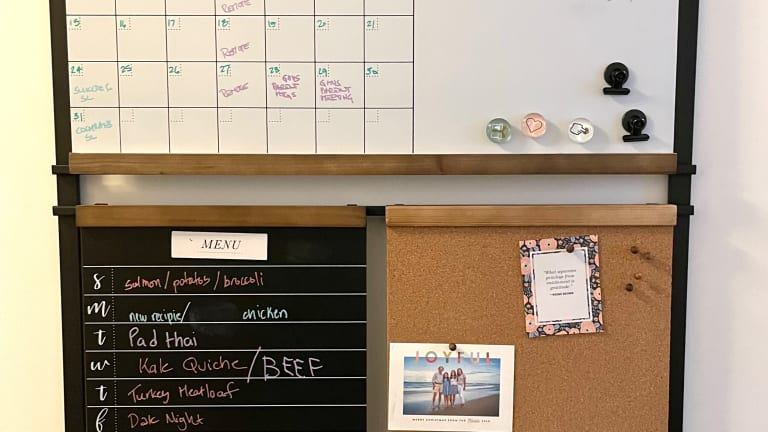 Get Organized this Winter with a Home Command Center