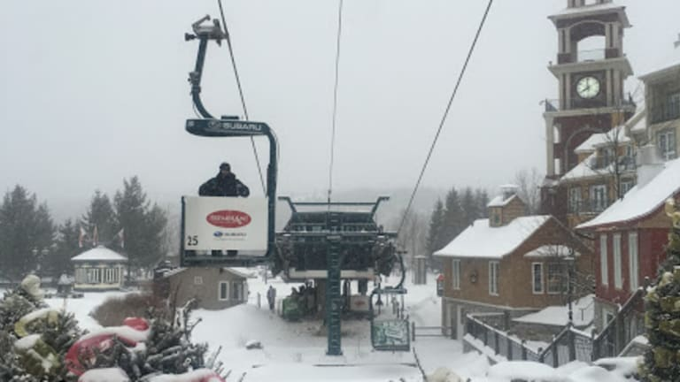 Why we Pick Mont Tremblant for our Family Ski Trip