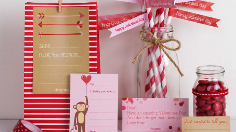 Last-Minute Valentine's Day Card Printables