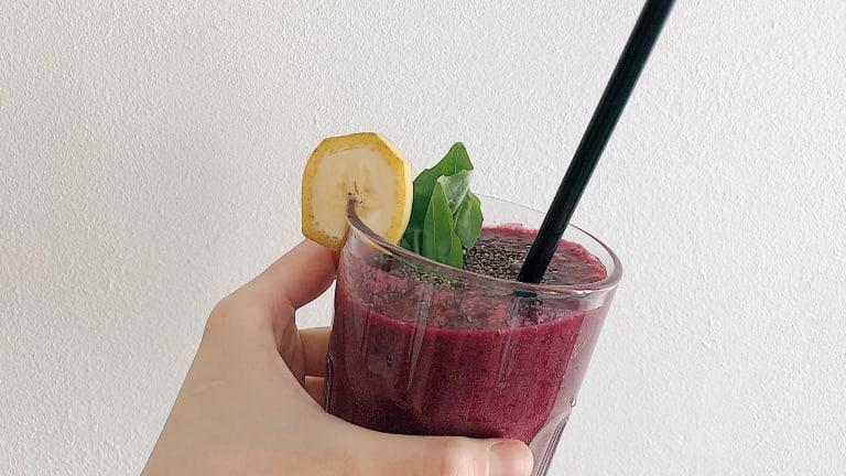 Brain-Boosting Purple Smoothie Recipe