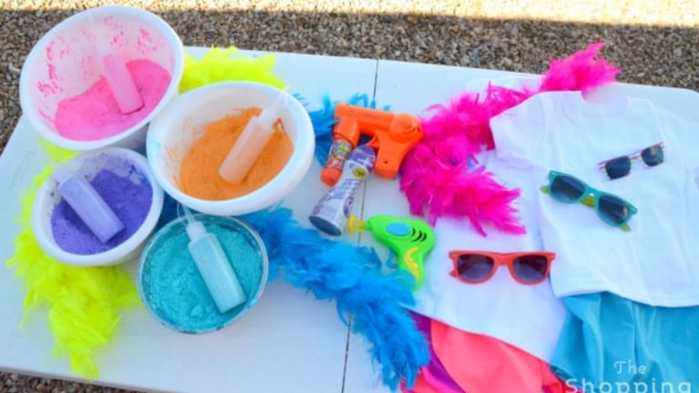 Throw A Holi Color Party with Your Kids Inspired by the Hindu Festival of Color
