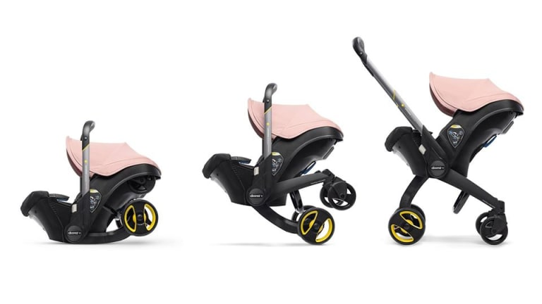 Doona Infant Carseat That Converts To A Stroller!