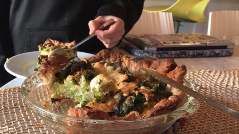 Meat-Free Recipes: Cheese and Broccoli Quiche