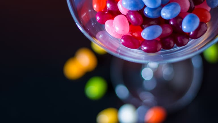 Relax and Enjoy a Jelly Bean Martini