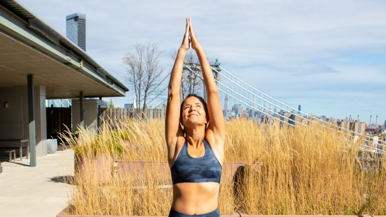 Easy Poses from Momtrends Yoga Series