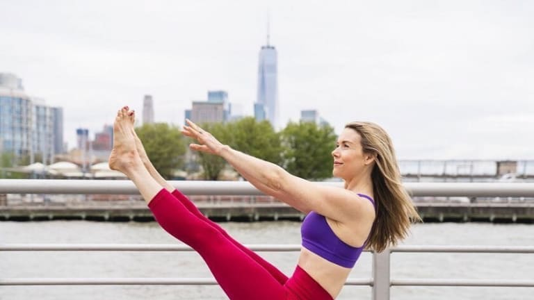 Celebrate National Yoga Month Momtrends