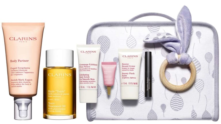 Clarins Unveils New Maternity Kits for Moms