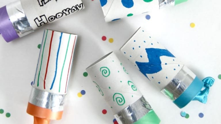 Weekend Craft Ideas: Confetti Popper Toilet Paper Tubes