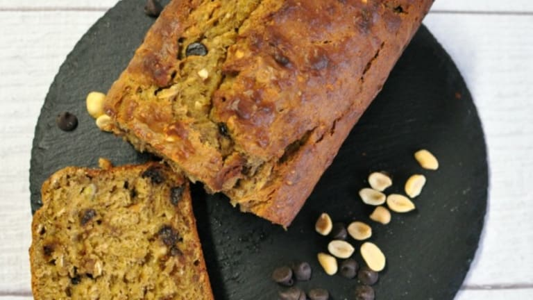 Delicious Loaded Banana Bread Recipe