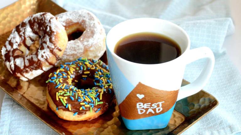 DIY Donut Mug for Dad