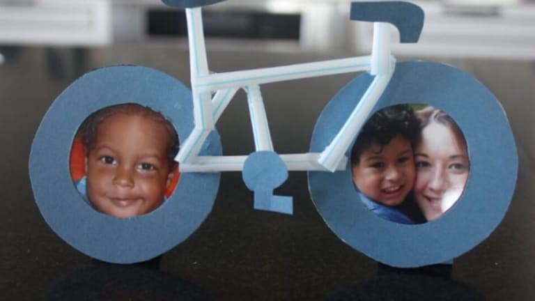 Craft a Father's Day Photo Bicycle