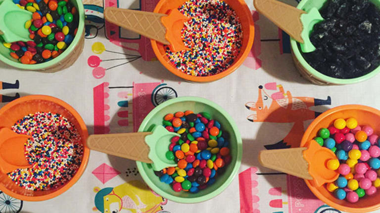 How to Throw an Adorable Ice-Cream Birthday Party