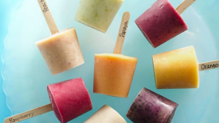 DIY Frozen Treats and Popsicle Recipes