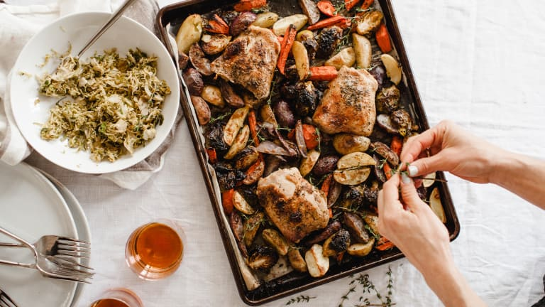 Easy Sheet Pan Chicken Recipe for Families