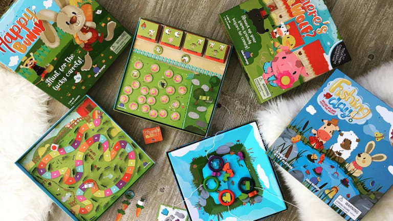 Blue-Orange Games: Eco-Friendly Wooden Games for Kids