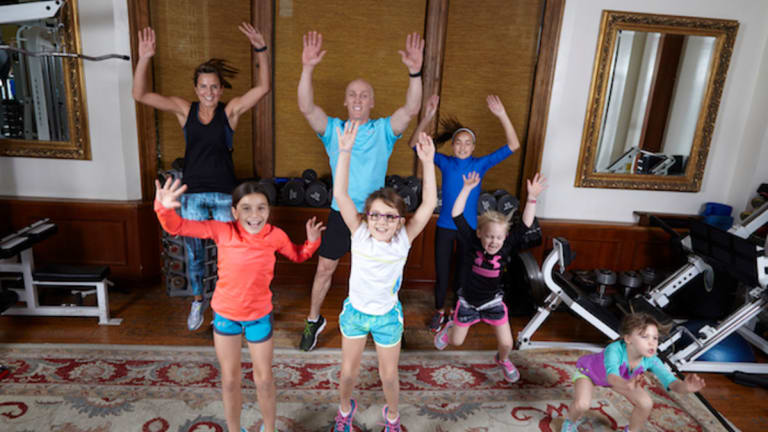 Fitting in Family Fitness